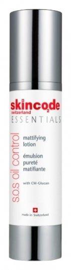 Лосьон для жирной кожи матирующий SOS  Skincode
