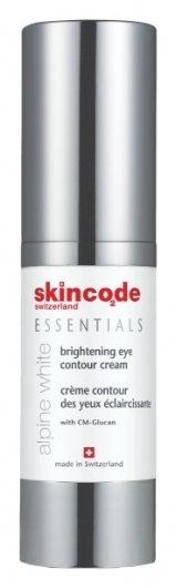 Крем для контура глаз осветляющий Alpine White  Skincode
