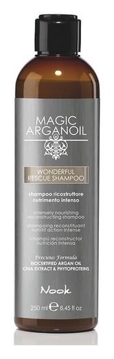 Шампунь Реконструирующий интенсивно-питательный Magic arganoil Wonderful Rescue Shampoo  Nook