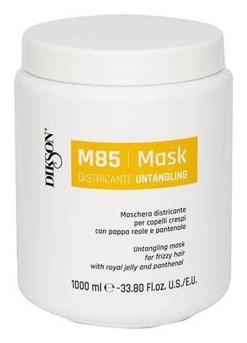 Маска для облегчения расчёсывания пушистых волос с маточным молочком и пантенолом Mask Districante  Dikson