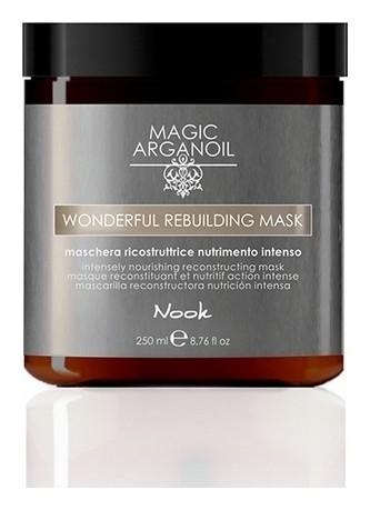 Маска для волос Реконструирующая интенсивно-питательная Magic arganoil Wonderful Rebuilding Mask  Nook