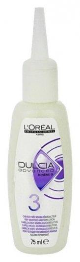 Лосьон для очень чувствительных волос Долговременная завивка и разглаживание Dulcia №3  L'oreal Professionnel