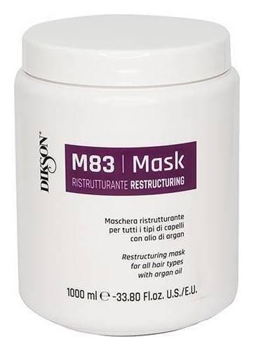 Маска для всех типов волос Восстанавливающая с Аргановым маслом Mask Ristrutturante M83  Dikson