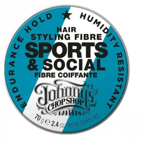 Паста для укладки волос Sports & Social Hair Styling Fibre  Johnnys Chop Shop