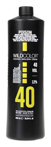 Крем-эмульсия окисляющая для краски Oxidizing Emulsion Cream 12% Oxi 40 Vol.  Wild Color