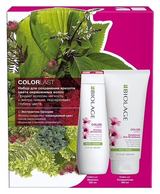 Набор для окрашенных волос Colorlast Шампунь + кондиционер  Matrix