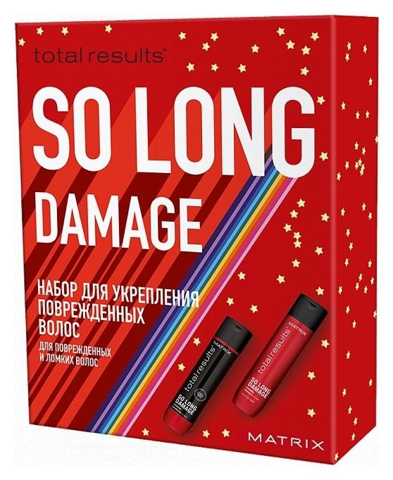 Набор для поврежденных волос So Long Damage Шампунь + кондиционер  Matrix