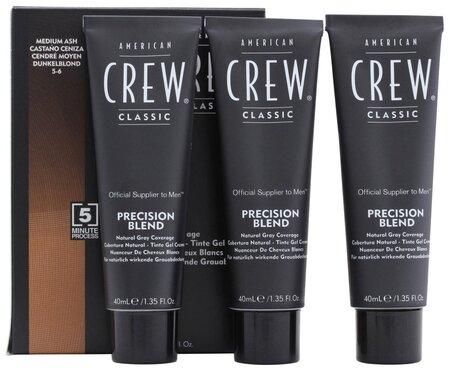 Краска для седых волос Precision Blend  American Crew
