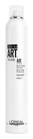 Спрей для волос моментальной фиксации с защитой от влаги и УФ-лучей без запаха Air Fix Pure  L'oreal Professionnel