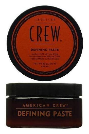 Паста со средней фиксацией и низким уровнем блеска для укладки волос Defining Paste  American Crew