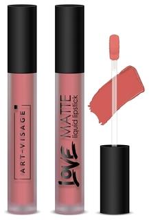 Помада для губ жидкая матовая Love Matte  Art-visage (Арт визаж)