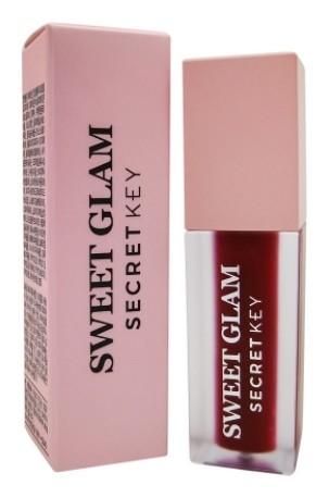 Тинт вельветовый для губ Sweet Glam Velvet Tint  Secret Key