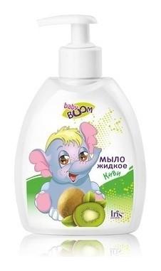 Мыло жидкое детское с киви  IRIS cosmetic