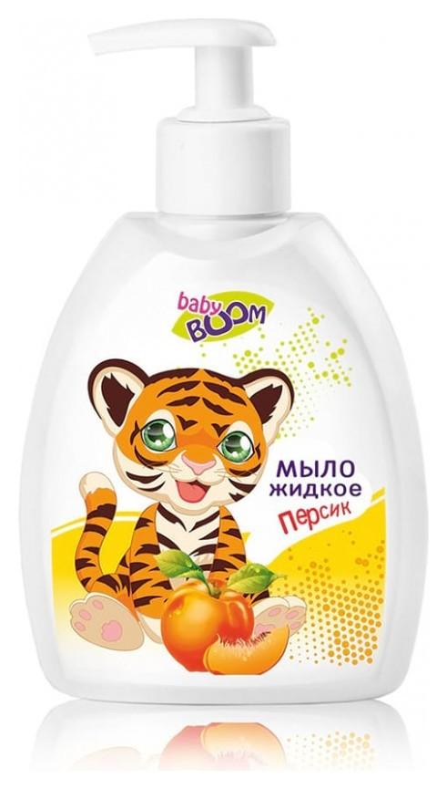 Мыло жидкое детское с персиком  IRIS cosmetic