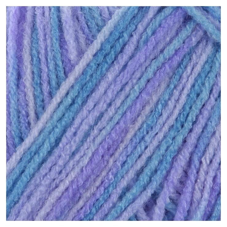 Пряжа Adelia Jane 100% акрил 227м/50гр (08 т.голубой-голубой) Adelia