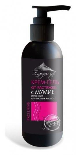 Крем-гель от растяжек с мумие  Фарм-продукт