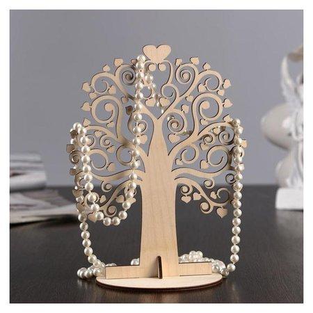 """Подставка для украшений """"Чудо-дерево"""", 22×17×0,3 см  NNB"""