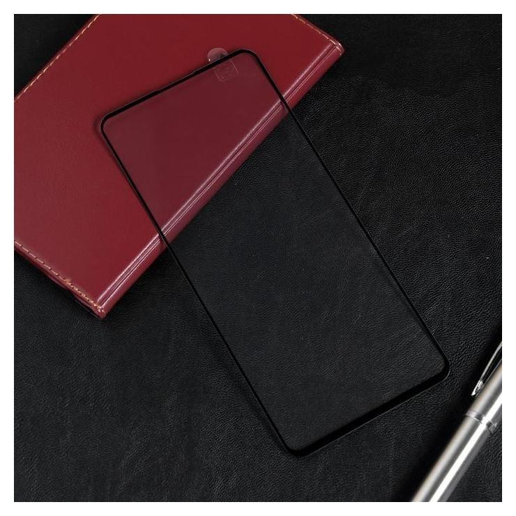 Защитное стекло Red Line для Samsung Galaxy A71, Full Screen, полный клей, черное  Red line