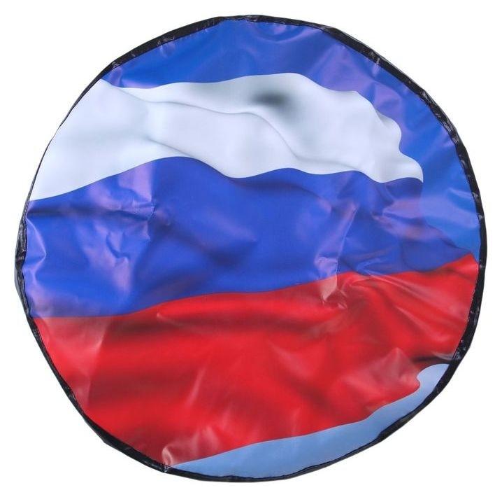 Чехол запаски, размер R 16-17, флаг россии большой NNB