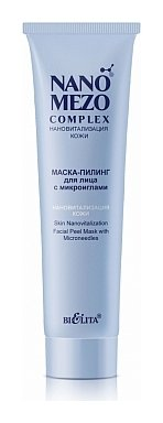 Маска-пилинг для лица с микроиглами Нановитализация кожи  Белита - Витекс
