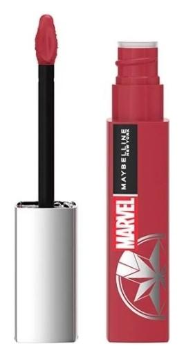 Помада для губ жидкая матовая Super Stay Matte Ink MARVEL Maybelline New York Superstay