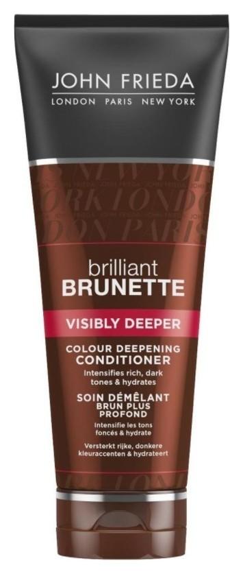"""Кондиционер для темных волос насыщенный оттенок """"Brilliant Brunette Visibly Deep""""  John Frieda"""