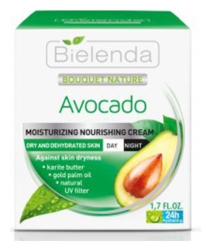 Крем для лица увлажняющий Авокадо  Bielenda