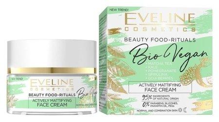 Крем для лица активный матирующий Bio Vegan  Eveline Cosmetics