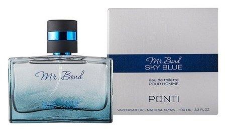 Туалетная вода Mr. Bond SKY Blue для мужчин  Ponti Parfum