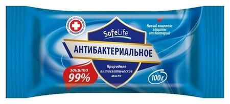 Мыло туалетное твердое антибактериальное