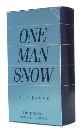 Туалетная вода мужская One Man Snow