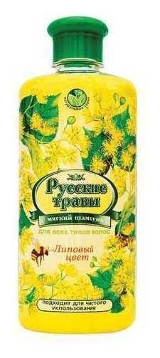 Шампунь для всех типов волос Липовый цвет  Русские травы