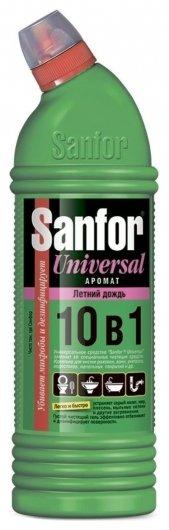 Гель для чистки и дезинфекции Летний дождь 10в1  Sanfor