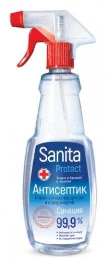 Спрей-антисептик для рук и поверхностей  Sanita