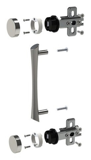 Фурнитура для двери стеклянной (Код 640426), кф-941  Приоритет