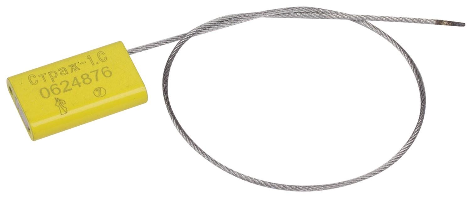 Пломбы металлические тросовые страж-1.с, диаметр 1,5 мм, длина 300 мм, комплект 10 шт. Страж