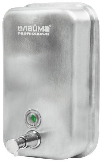 Диспенсер для жидкого мыла металлический Лайма