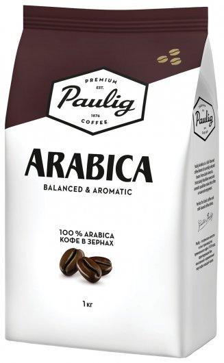 """Кофе в зернах Paulig (Паулиг) """"Arabica"""", натуральный, 1000 г, вакуумная упаковка, 16282/16316  Paulig"""