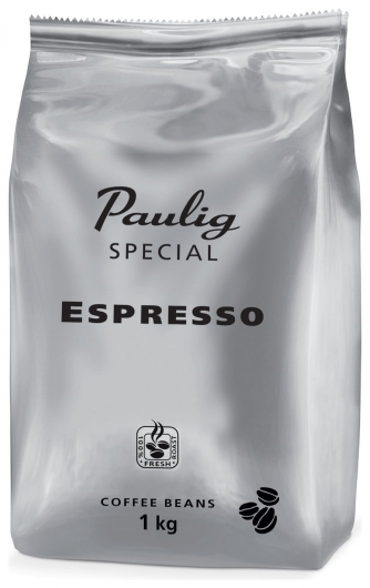 """Кофе в зернах Paulig (Паулиг) """"Special Espresso"""", натуральный, 1000 г, вакуумная упаковка, 16545  Paulig"""