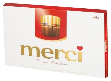 Конфеты шоколадные Merci  Merci