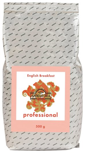 "Чай Ahmad (Ахмад) ""English Breakfast"" Professional, черный, листовой, пакет, 500 г, 1591  Ahmad Tea"