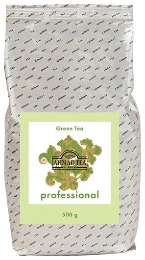 "Чай Ahmad (Ахмад) ""Green Tea"" Professional, зеленый, листовой, пакет, 500 г, 1594  Ahmad Tea"