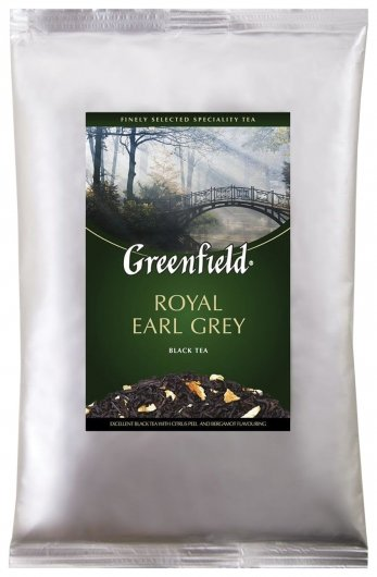 """Чай Greenfield (Гринфилд) """"Royal Earl Grey"""", черный с бергамотом, листовой, 250 г, пакет, 0975-15  Greenfield"""