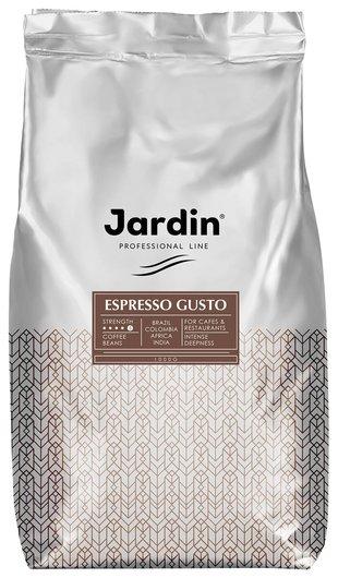 """Кофе в зернах Jardin (Жардин) """"Espresso Gusto"""", натуральный, 1000 г, вакуумная упаковка, 0934-08  Jardin"""