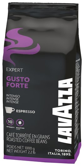 "Кофе в зернах Lavazza ""Gusto Forte Expert"", 1000 г, вакуумная упаковка, 2868  Lavazza"