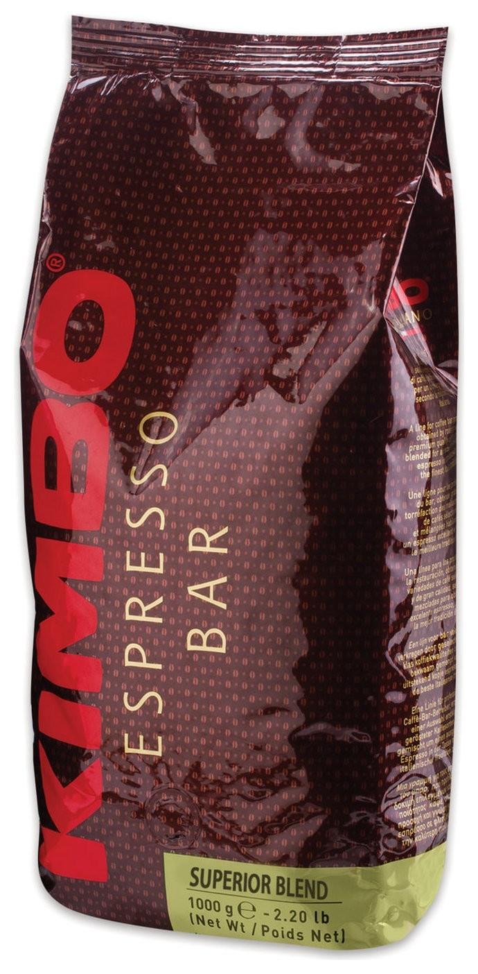 """Кофе в зернах Kimbo """"Superior Blend""""(Кимбо""""супериор бленд""""), натуральный, 1000 г, вакуумная упаковка  Kimbo"""