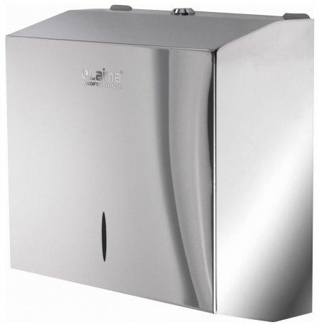 Диспенсер для полотенец Laima Professional Inox, (H3), V(zz), нержавеющая сталь, зеркальный, 605697  Лайма