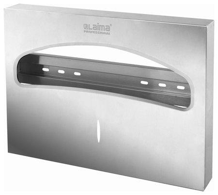 Диспенсер для покрытий на унитаз Laima Professional Inox, (Система V1) 1/2, нержавеющая сталь, матовый, 605702  Лайма