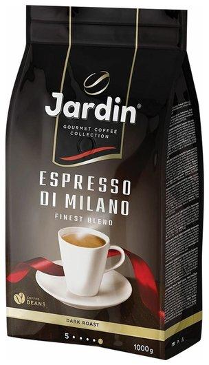 """Кофе в зернах Jardin (Жардин) """"Espresso Di Milano"""", натуральный, 1000 г, вакуумная упаковка, 1089-06-н  Jardin"""