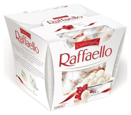 Конфеты с миндальным орехом Raffaello  Raffaello